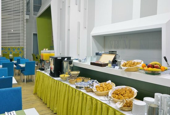 Atrium Fashion Hotel : Breakfast