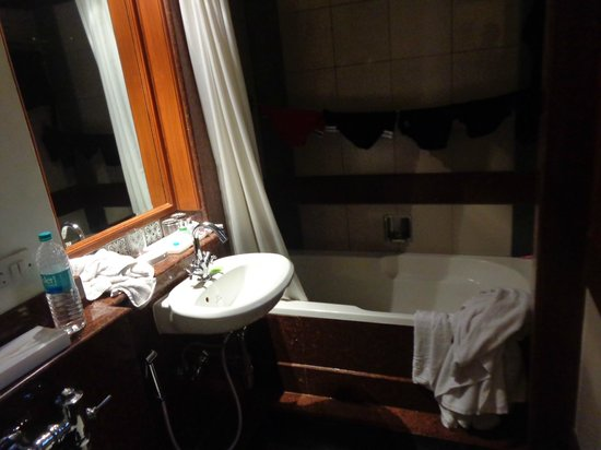 Hotel Vikram: Standard room - Bathroom