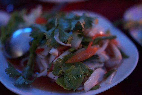 Leelawadee Restaurant Chiangrai: seafood salad