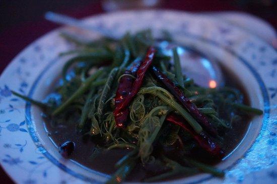 Leelawadee Restaurant Chiangrai: morning glory