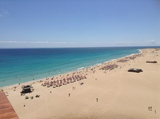 ClubHotel Riu Oliva Beach Resort: view of beach from room
