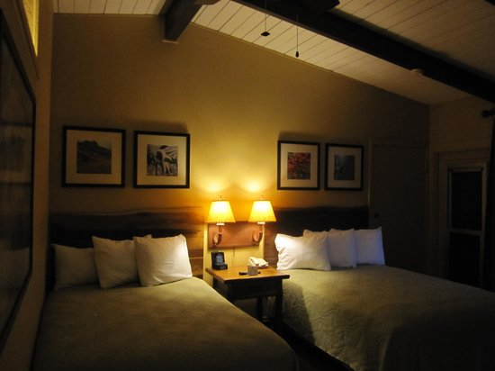 Yosemite Valley Lodge: Comfy beds