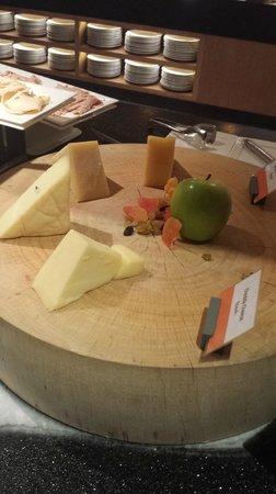Amari Hua Hin: Breakfast, cheese platter.