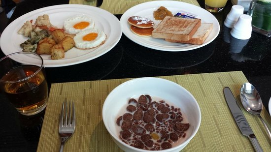Amari Hua Hin: Yummy breakfast.