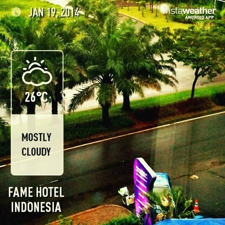 Fame Hotel Gading Serpong: View from 5th floor