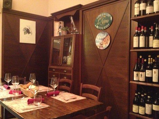 L'Acino Restaurant: Il locale: sala superiore