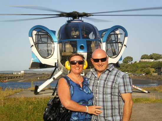 Heliview Flights: Me and the wife