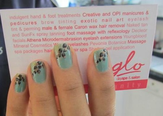 Another Nail Art At Glo Picture Of Glo Day Spa Salon Seminyak