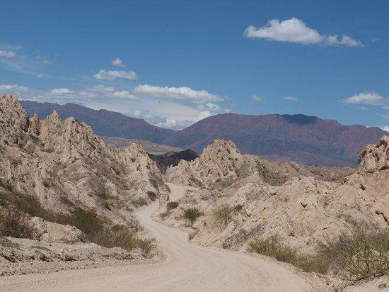 Quebrada de Las Flechas - Angastaco: Las Flechas...desertique