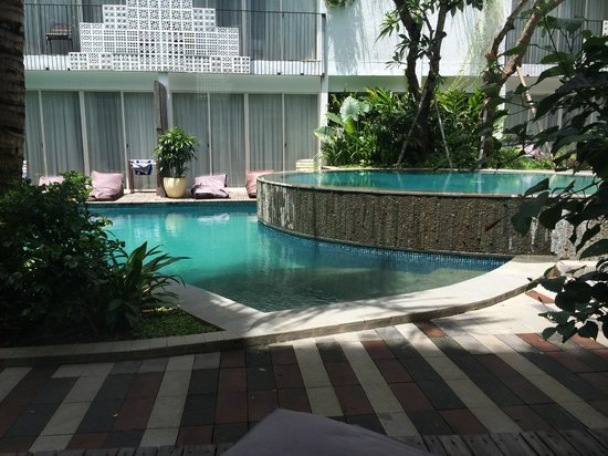 The Akmani Legian : View of pool from my room