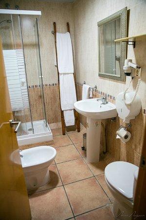 Casual Valencia de las Civilizaciones : Душ и туалет в номере.