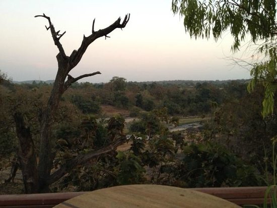 The Fern Gir Forest Resort: Hiran river as viewed from resort