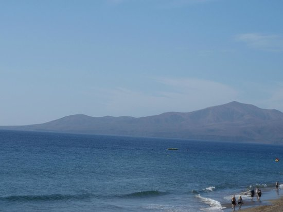 La Penita Apartments: View from beach
