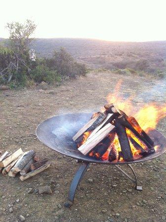 Kwandwe Ecca Lodge: Sundowners