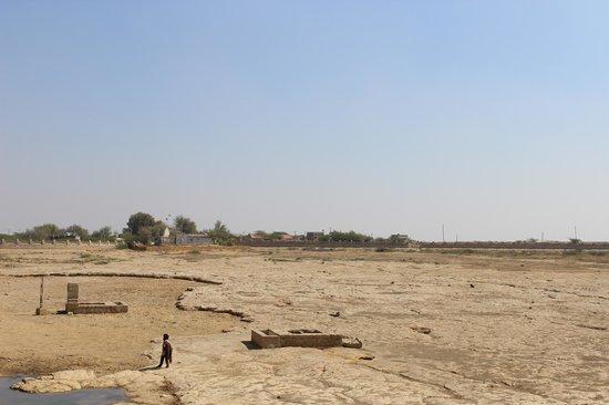 Narayan Sarovar dry lake