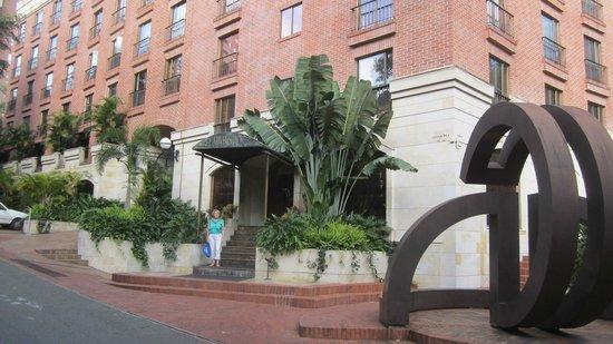 Park 10 Hotel: de ingang van het hotel