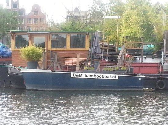 Bambooboat: Outside terrace