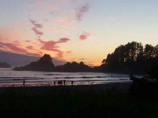Long Beach Lodge Resort: End to a perfect day