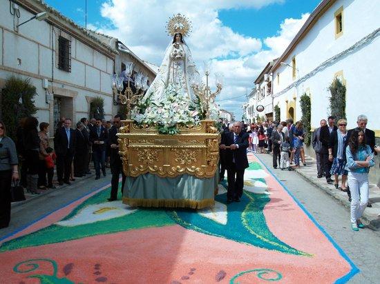 Villamayor de Calatrava, สเปน: Fiestas de Mayo