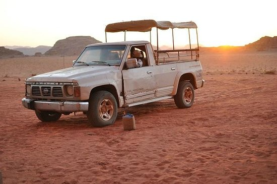 Wadi Rum Lovers Camp: The view from the camp