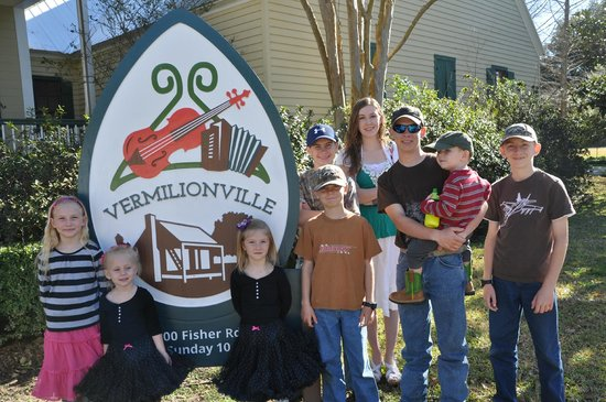 Vermilionville: photo op at Welcome Center