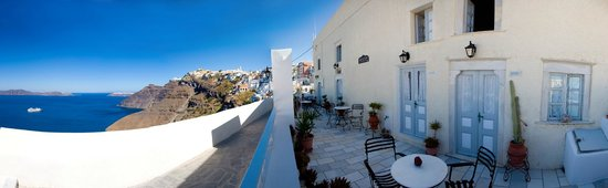 Archontiko Santorini: Deluxe split level apartment