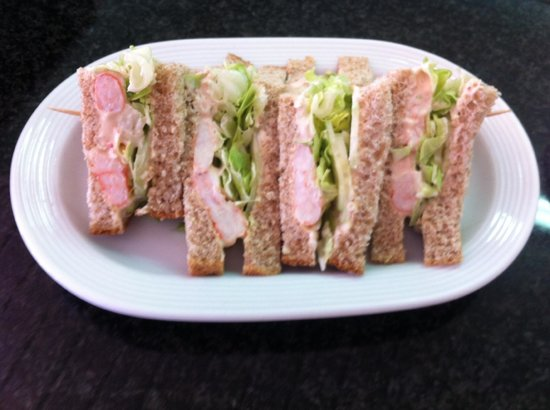 Spud Murphy's: Prawn Sandwich - Freshly made choice of sandwiches
