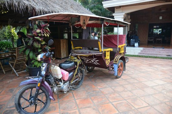 Bloom Garden Guesthouse: nice driver