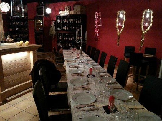 Cantina Libertino, Cocina y Vino: La Table du 31 decembre