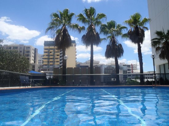 Novotel Brisbane: view from pool side