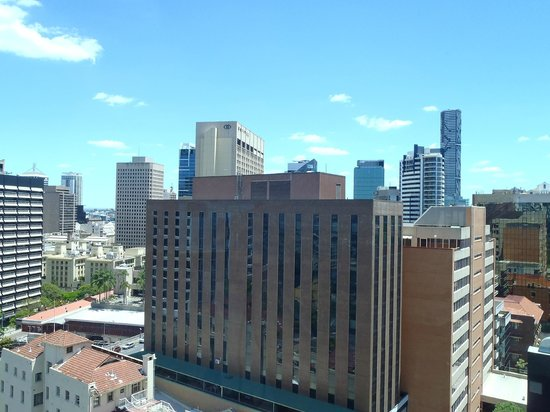 Novotel Brisbane: View from view is not clusterphobic