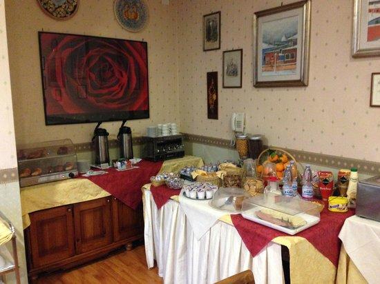 Hotel Villa Romeo : Buffett colazioni