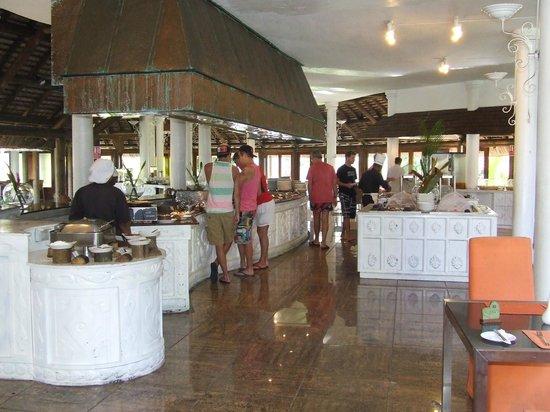 Indian Resort : buffet