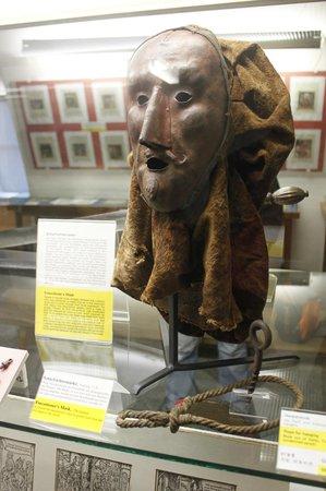 Medieval Crime Museum (Mittelalterliches Kriminalmuseum): Punishment mask