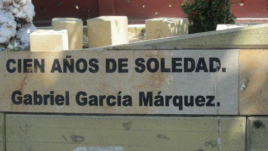 Gabriel Garcia Marquez Museum: deel van monument voor Marquez