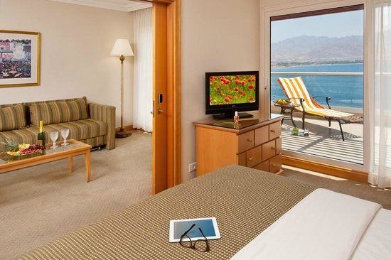 U Suites Eilat : Large rooms with Great View