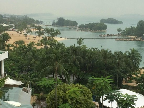 Shangri-La's Rasa Sentosa Resort & Spa: View from room 943