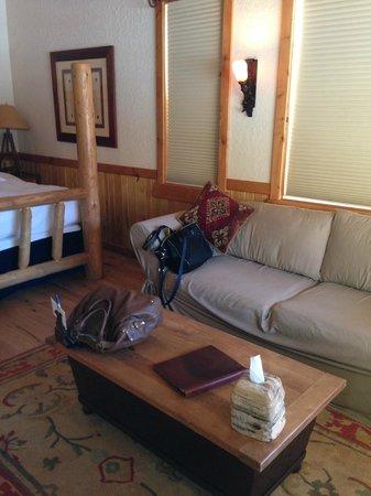 Sorrel River Ranch Resort and Spa: sofa