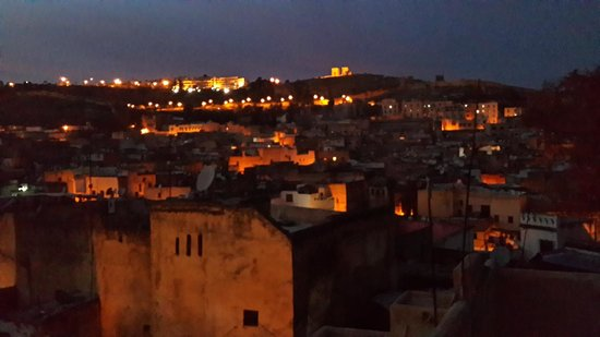 Dar Sienna: View at night