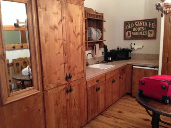 Sorrel River Ranch Resort and Spa: kitchenette