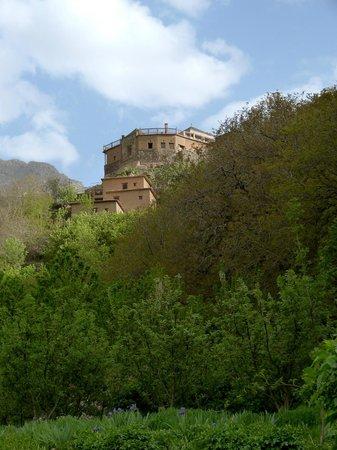 Kasbah Du Toubkal : Ansicht von Imlil aus