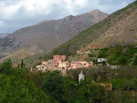 Kasbah Du Toubkal : Dorf in der Nachbarschaft