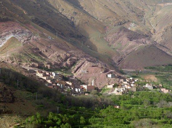 Kasbah Du Toubkal : Nachbardorf