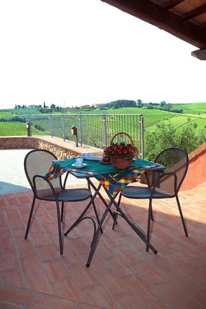 Agriturismo Borgo Vigna Vecchia: la terrazza