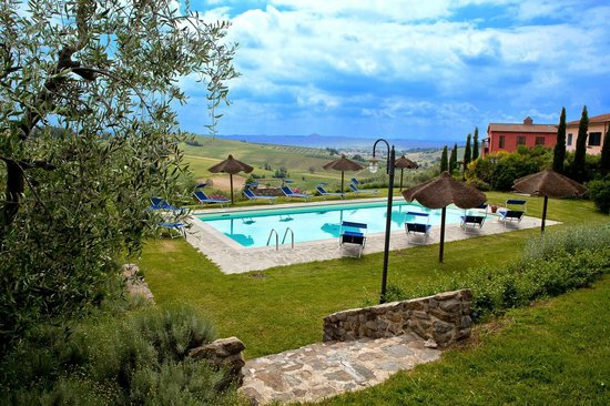Agriturismo Borgo Vigna Vecchia: la piscina