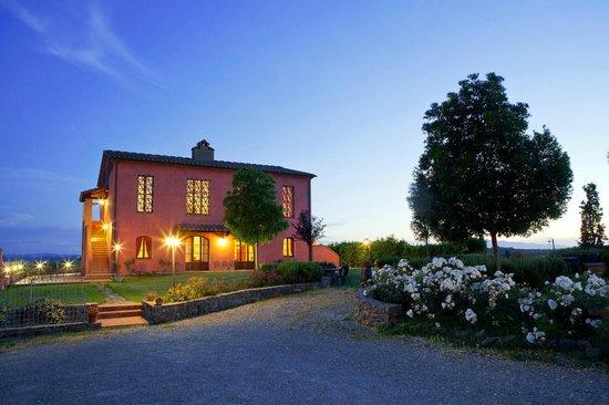 Agriturismo Borgo Vigna Vecchia: il crepuscolo