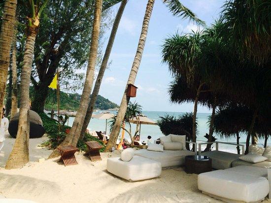 SALA Samui Choengmon Beach Resort: Bar plage