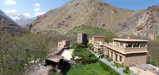 Kasbah Du Toubkal : Der Innenhof