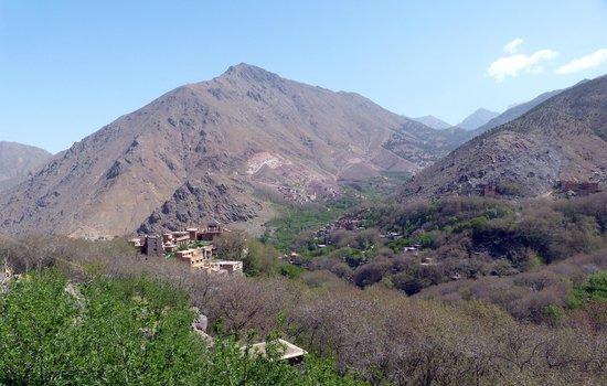 Blick auf die Kasbah du Toubkal
