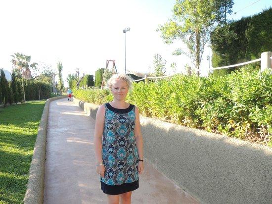 Insotel Cala Mandia Resort & Spa: Ogród